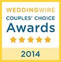 2014 WeddingWire Bride\'s Choice Awards