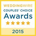 2015 WeddingWire Bride\'s Choice Awards