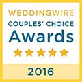 2016 WeddingWire Bride\'s Choice Awards