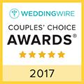 2017 WeddingWire Bride\'s Choice Awards